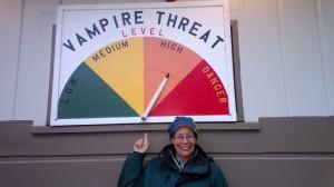 Vampire sign